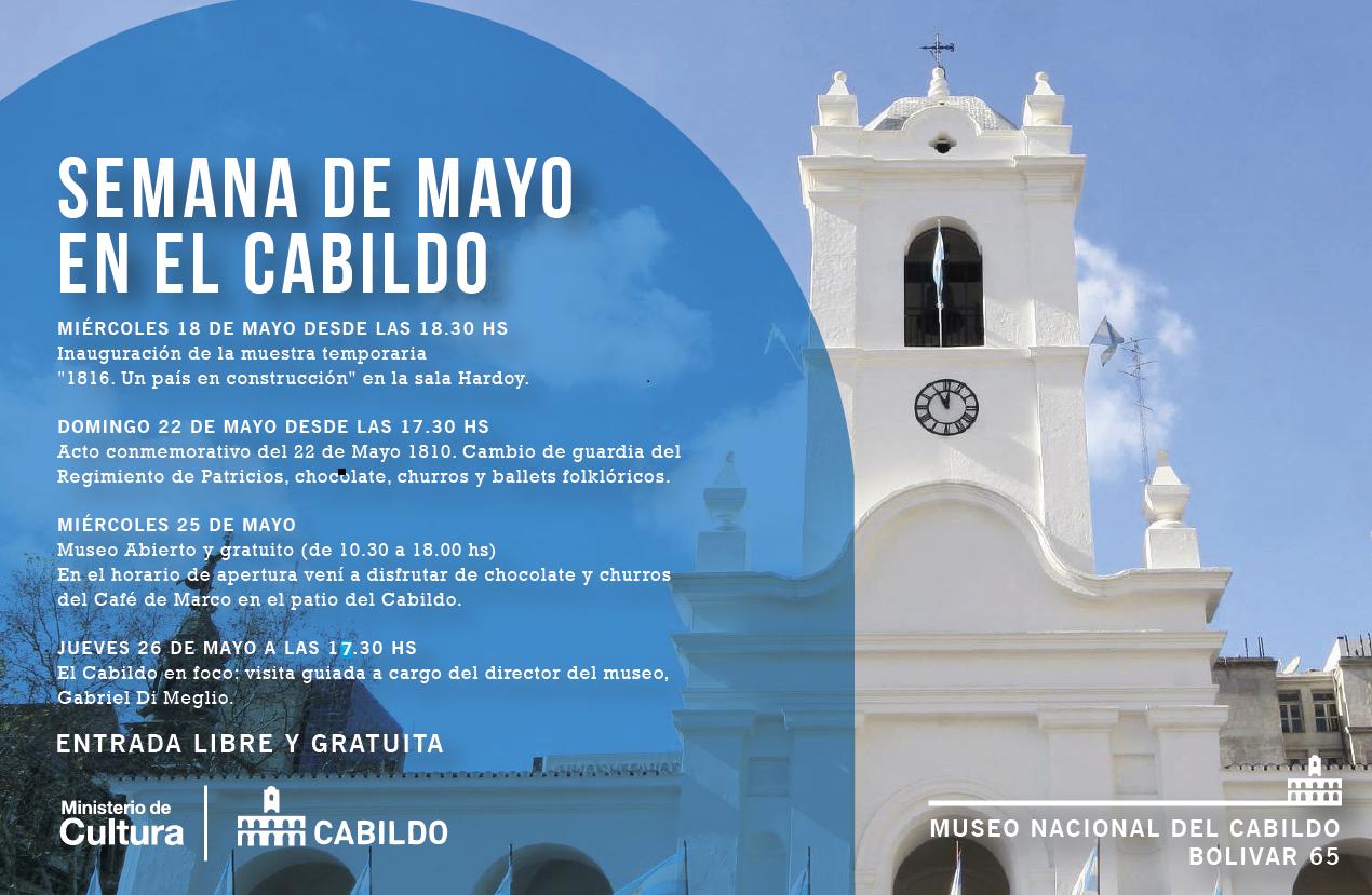 Festejamos El 25 De Mayo Museo Nacional Del Cabildo Y